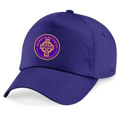 Purple Cap - Printed with Morpeth All Saints C E Aided First School Logo