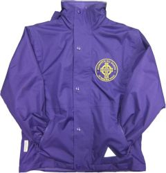 Stormproof Coat - Embroidered with Morpeth All Saints C E Aided First School Logo
