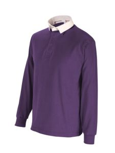 Purple Rugby Shirt for Hockey/Rugby - Plain