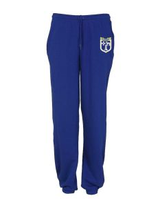 Royal Sweat Jog Pants - Embroidered with Meadowdale Academy Logo