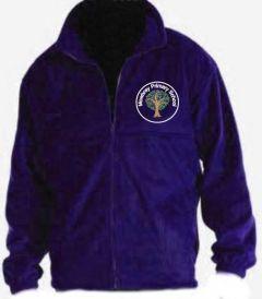 Purple Polar Fleece - Embroidered Mowbray Primary School Logo