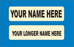 Iron-On Name Labels x 15