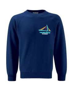 Navy Sweatshirt - Embroidered with New Bridge Academy logo