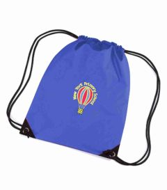 Royal PE Bag - Embroidered with New York Primary School logo