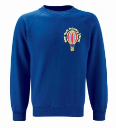 Royal Sweatshirt - Embroidered with New York Primary School logo