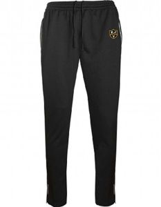 Black Tracksuit Bottoms - Embroidered with Park View School Logo