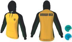 Junior PE Hoodie- Embroidered with Durham High School Logo