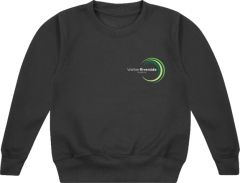 Black PE Sweatshirt - Embroidered with Walker Riverside Academy logo