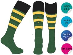 Socks - for Durham High School - Woven with DHS