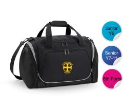 Sports Holdall - Embroidered with Durham High School Logo