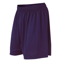 Mitre Navy Blue Football Shorts - Plain