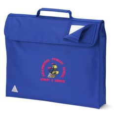 Royal Blue Book Bag - Embroidered with Collingwood Primary School Logo