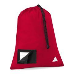 Red PE Bag - No Logo