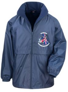 Navy Jacket - Core Di-warm & Lite - Embroidered With BKKS Logo