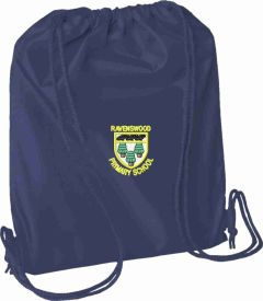 Navy PE Bag - Embroidered with School logo