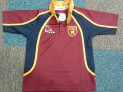 Rugby Top - Embroidered with Kings Priory School Logo