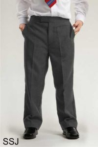 Grey Boys Junior Classic Fit Trouser (SSJ)