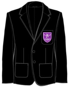 Girls Black Blazer - Embroidered with Staindrop Academy Logo