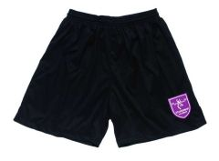 BOYS PE Shorts Black - Embroidered with Staindrop Academy Logo