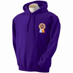 Purple PE Hoody (KS2 ONLY) with embroidered Seaton Sluice First School Logo