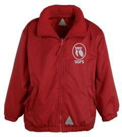Red Mistral Shower Proof Jacket - Embroidered With South Gosforth First School Logo