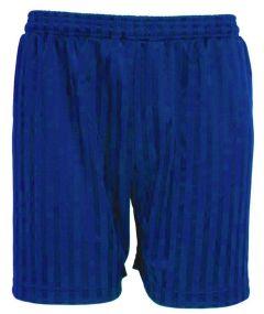 Royal PE Shorts Shadow Stripe - Plain (No Logo)