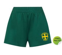Infant PE Shorts - Embroidered with Durham High School Logo