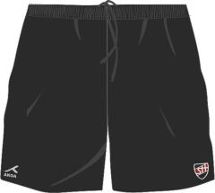 Black AKOA Multisport Short (ACT) - Embroidered with Shotton Hall Academy Logo