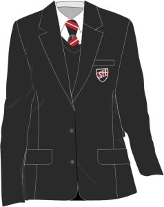 Black Girls Contemporary Blazer (AGB) - Embroidered with Shotton Hall Academy Logo