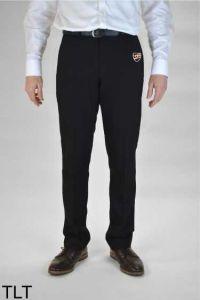 Boys Black Slim Leg Trousers (TLT) - Embroidered with Shotton Hall Academy Logo