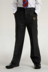Junior Boys Slim Fit Trouser - Embroidered with Park View School Logo