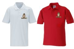 *SALE* Polo - Embroidered With South Gosforth First School Logo
