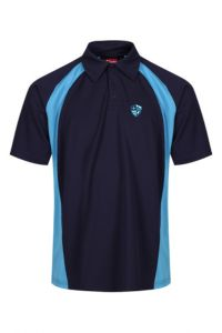 Boys PE Polo - Embroidered with Hermitage Academy Logo