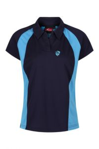 Girls PE Polo - Embroidered with Hermitage Academy Logo