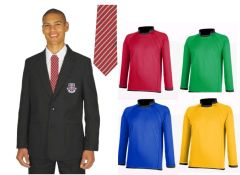 Boys Package Deal - Black Blazer, Tie & Rugby Shirt - for St Bede's Catholic School