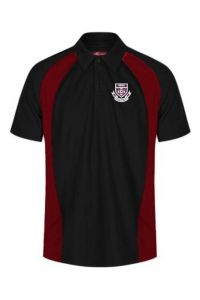 PE Polo (Girls all year round, optional for boys in Summer term only) - Embroidered with St Bede's Catholic School Logo