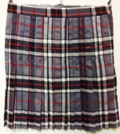 St Benet Biscop Girls Tartan Kilt - (No Logo) *STYLE/SIZES AVAILABLE WHILE STOCKS LAST*