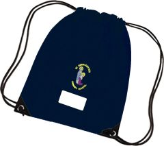 PE Navy Bag - Embroidered with St Bernadettes RC PS Logo