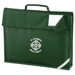 Bottle Book Bag - With St Cuthberts RC PS (N/Shields) Logo