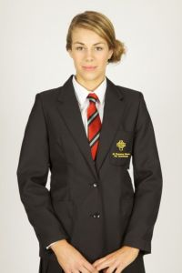 Black Girls Blazer - Embroidered with St Thomas More Academy Logo
