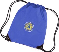 Royal PE Bag - Embroidered with Stead Lane Primary School Logo