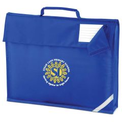 Royal Book Bag Embroidered with Stead Lane Primary School Logo