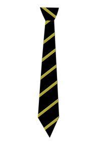 Stephenson School Tie 19 Clip-on