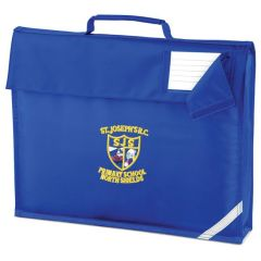 Royal Book Bag - Embroidered with St Joseph's RC Primary School (North Shields) logo