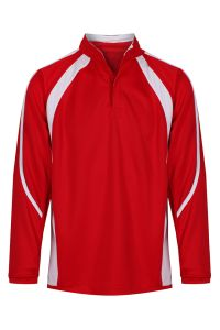 Newminster Red/White Reversible Rugby Top