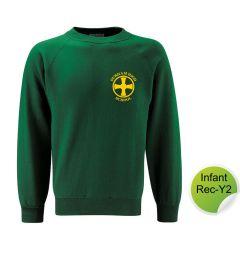 Infant Sweatshirt - Embroidered with Durham High School Logo