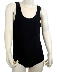 Black Swimming Suit - Newcastle High School for Girls logo Printed on back