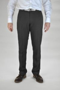 Charcoal Grey Boys Senior Trousers (TLT)
