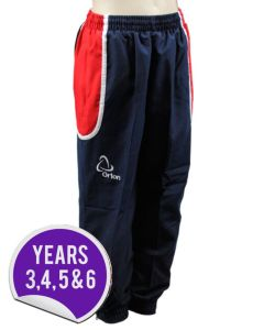 Tracksuit Bottoms - Embroidered with Dame Allan's Junior School Logo