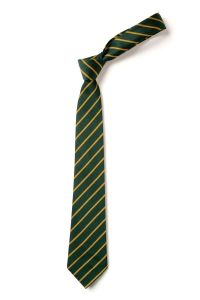 Green/Gold School Clip On Tie for St Cuthberts RC Primary School (N/Shields)
